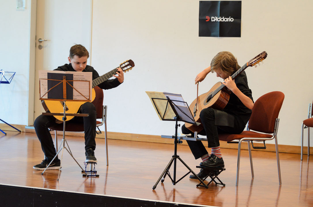 Teilnehmerkonzert Gitarrenfestspiele Nürtingen 2016 - Dou Jona Steinmeyer & Leon Kunz