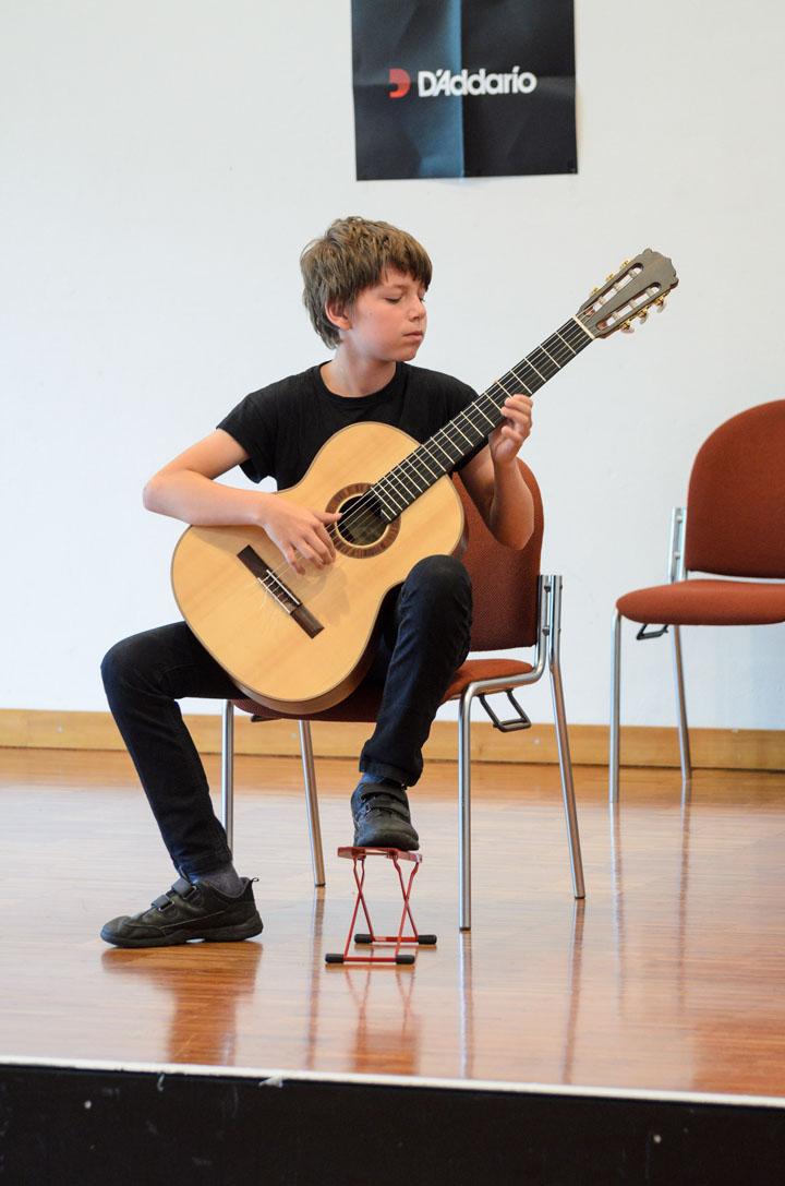 Teilnehmerkonzert Gitarrenfestspiele Nürtingen 2016 - Konrad Weyhing