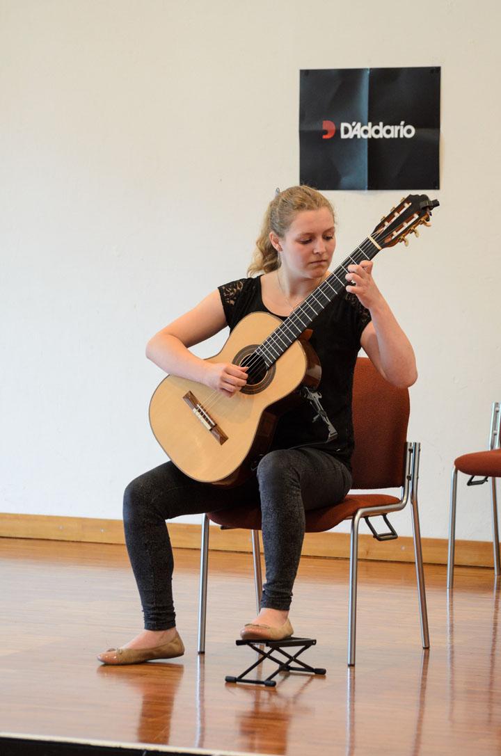 Teilnehmerkonzert Gitarrenfestspiele Nürtingen 2016 - Tatjana Engling