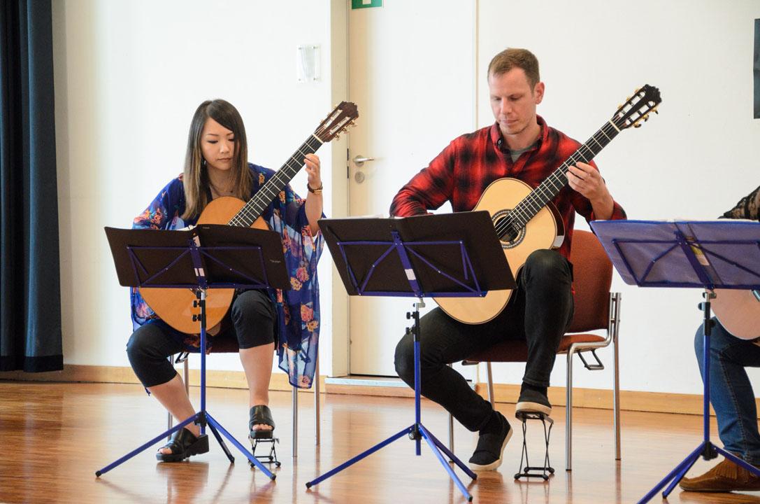 Teilnehmerkonzert Gitarrenfestspiele Nürtingen 2016 - Lyra Guitar Quartet